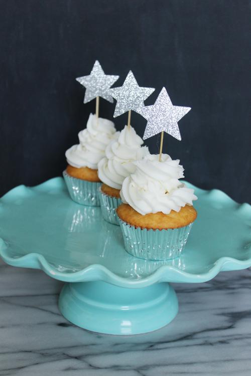 Cupcake Topper - Stars (3)