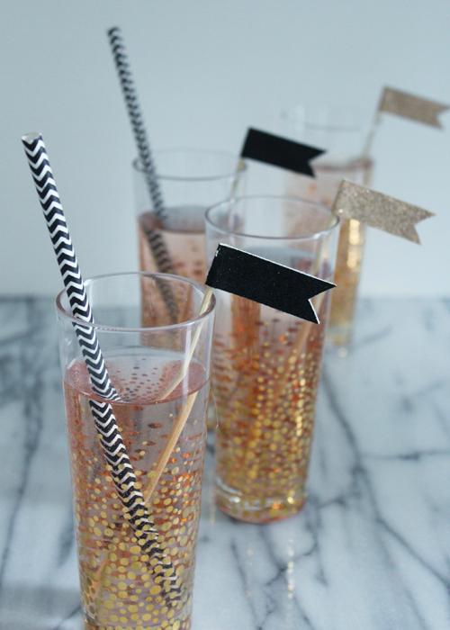 Drink Stirrer - Flags (2)