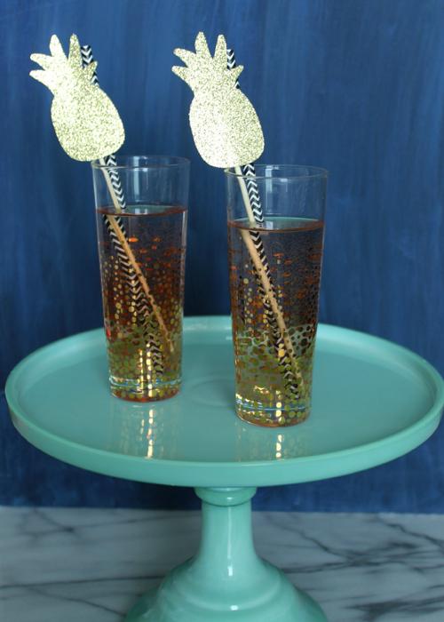 Drink Stirrer - Pineapple (2)