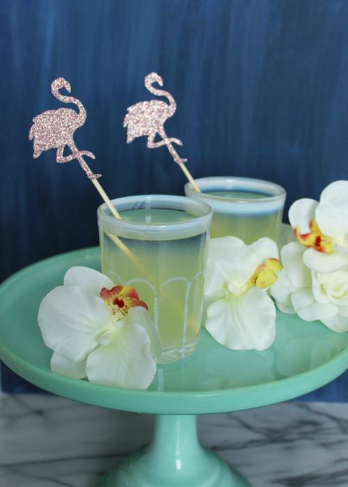 Drink Stirrers - Flamingo (2)