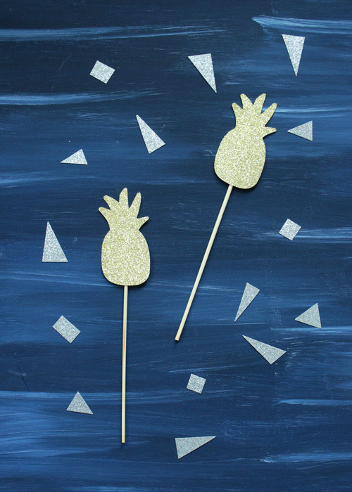 Drink Stirrers - Pineapple (1)