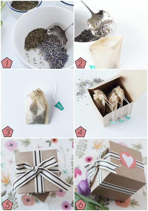 Tea Bath Collage