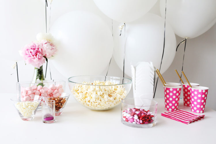 Diy With Lmp Poppin Pink Popcorn Bar Little Miss Party