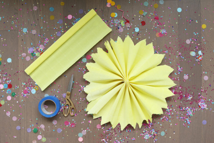 DIY with LMP: Paper Wall Flowers — Little Miss Party