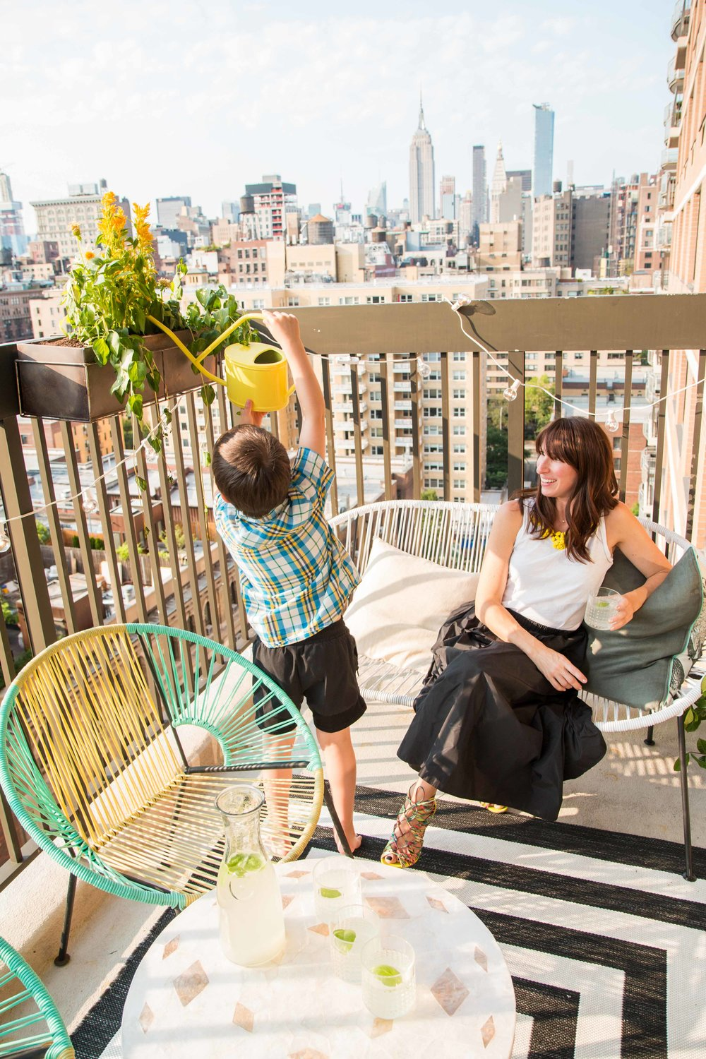 Decorating your Deck in NYC — Little Miss Party