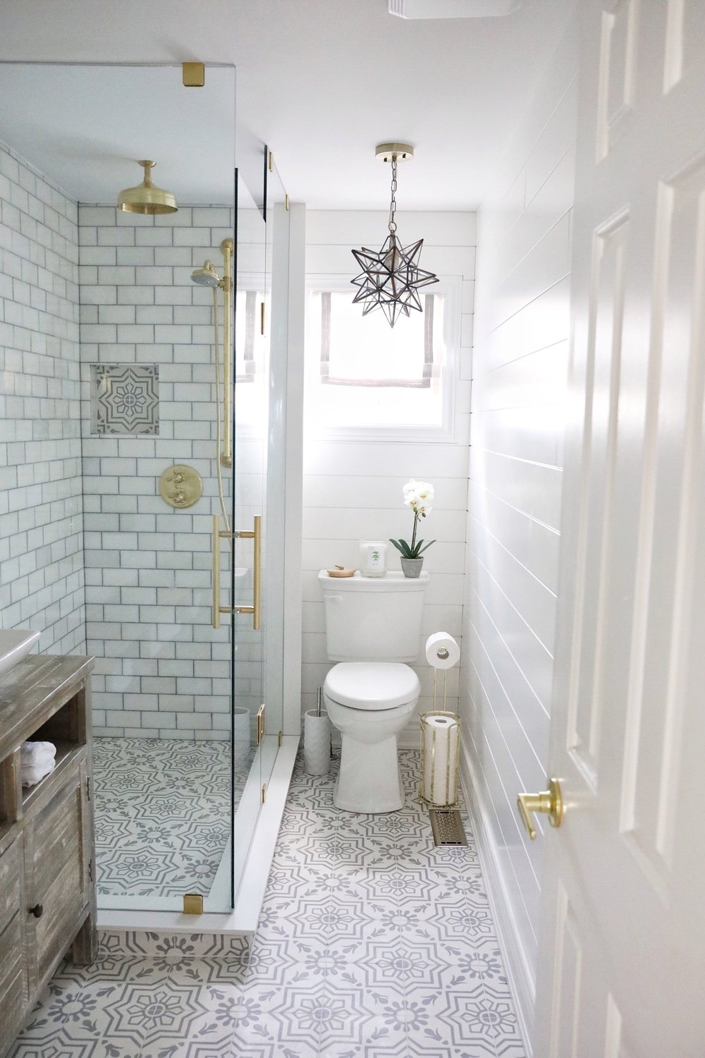 a simply beautiful bathroom makeover - Bathroom Makeover