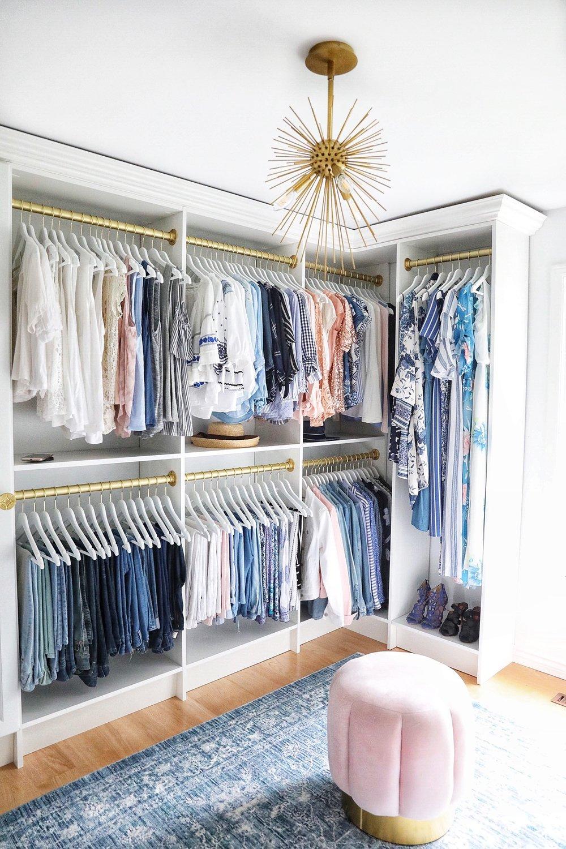 A Simply Beautiful Closet Makeover