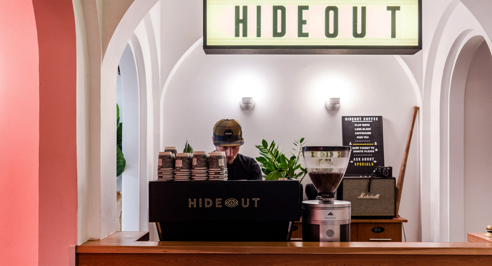 Hideout coffe – 4Marketing