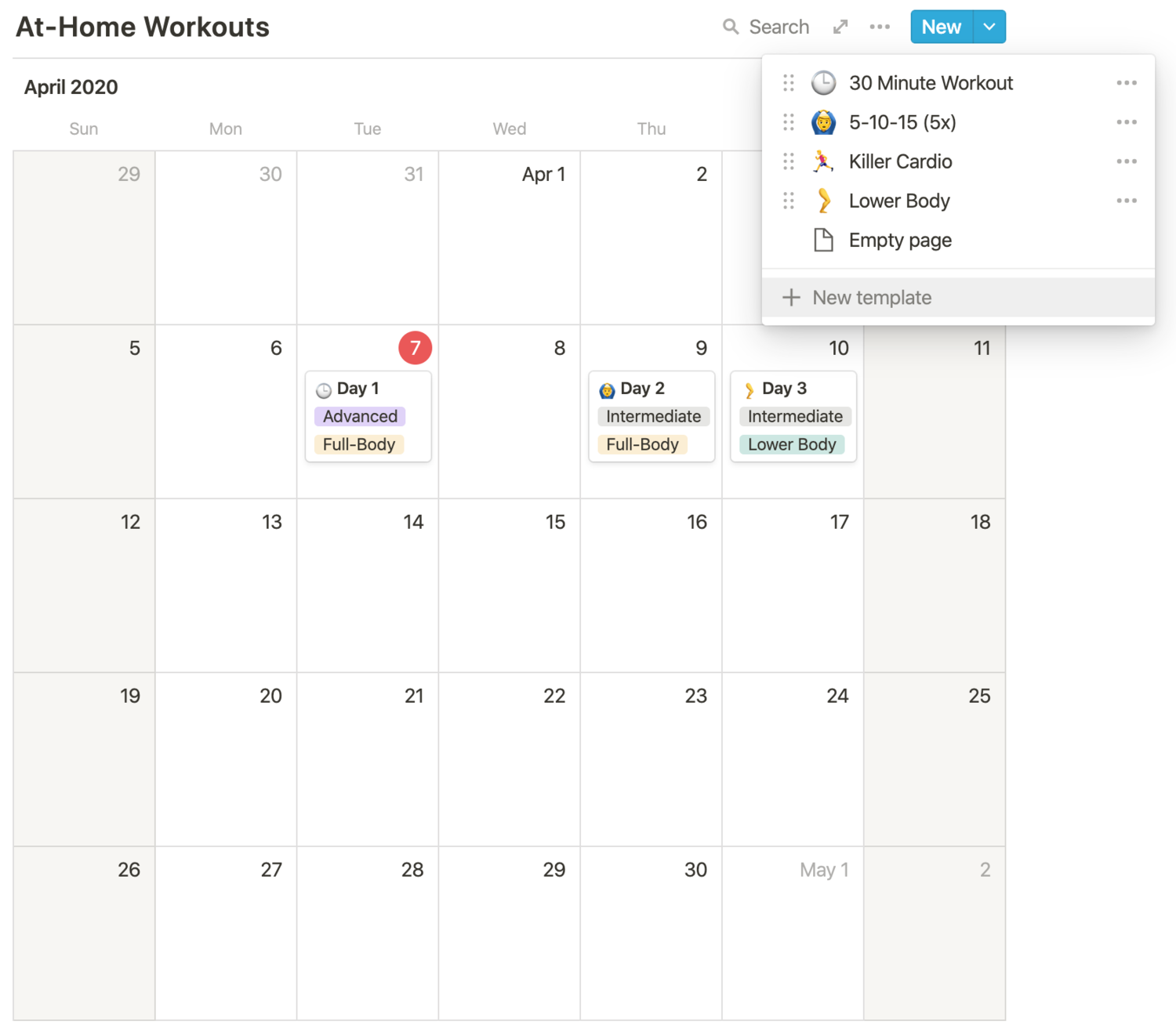 Fitness Log Template from static1.squarespace.com