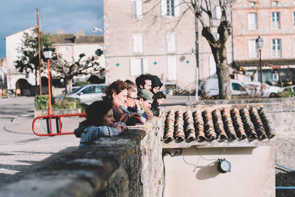 Image by Baptiste Namur - Masterclass for La Made School, Bordeaux, France