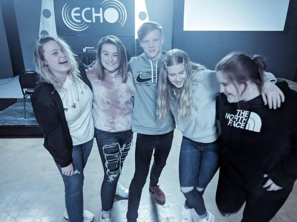 C.O.D.E.S - It is our goal at Echo Student Life Ministries to CONNECT with the lives of students, help them OVERCOME obstacles, DISCIPLE them in their spiritual lives, ELEVATE them to a higher level of maturity and to SEND them into their future better equipped to fulfill their purpose.