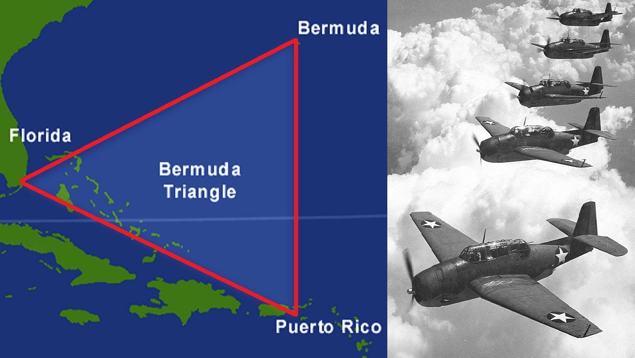 Bermuda triangle position
