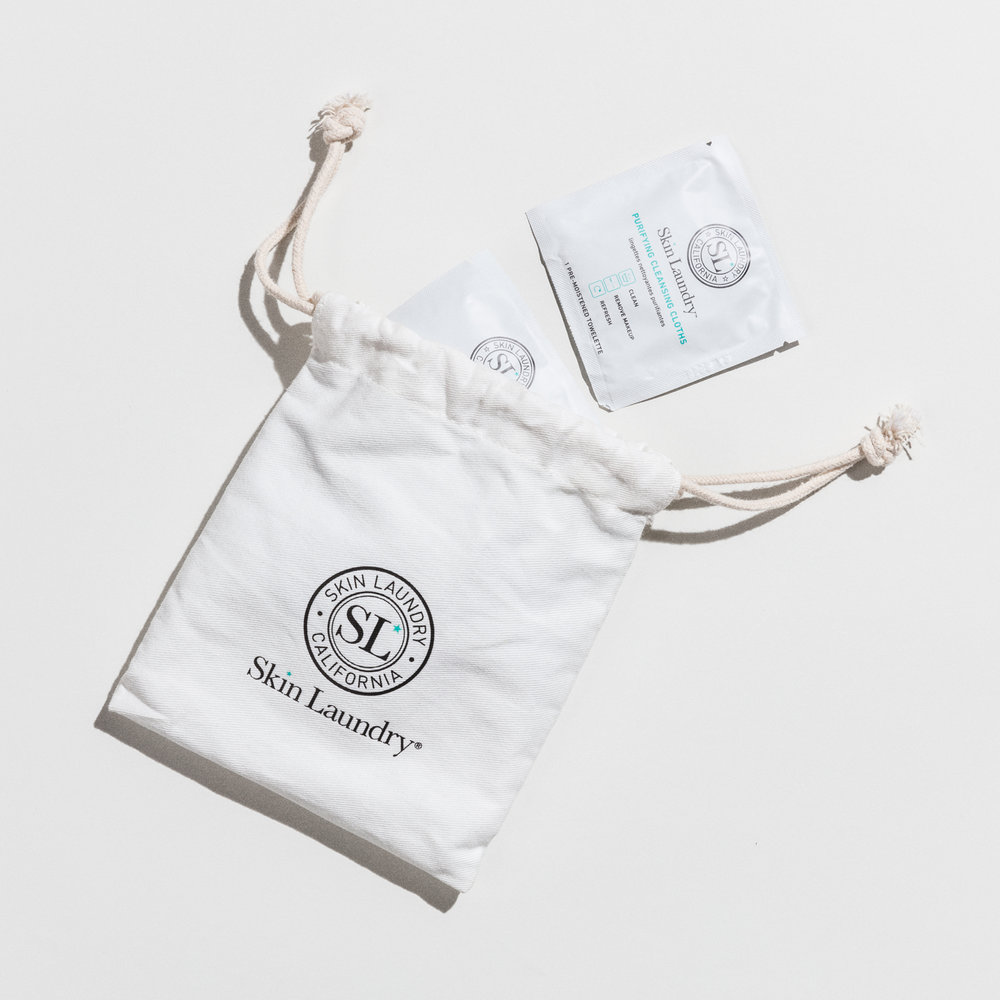 Skin Laundry Purifying Cleansing Cloths