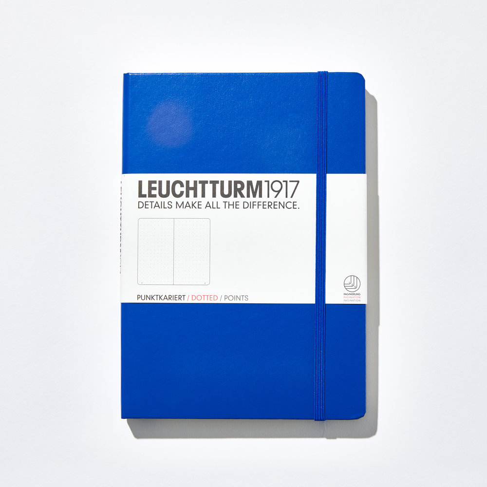 Leuchtturm1917 Hardcover Dotted Notebook