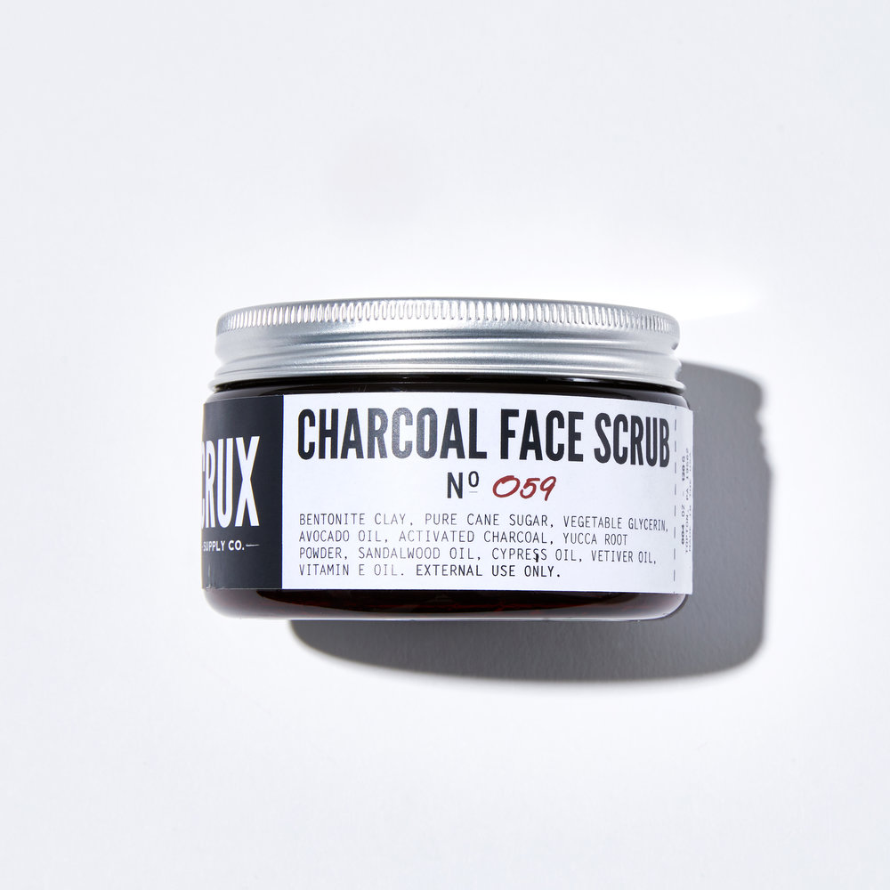 Crux Supply Co. Charcoal Face Scrub**