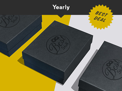 Yearly Best Deal Box Subscription
