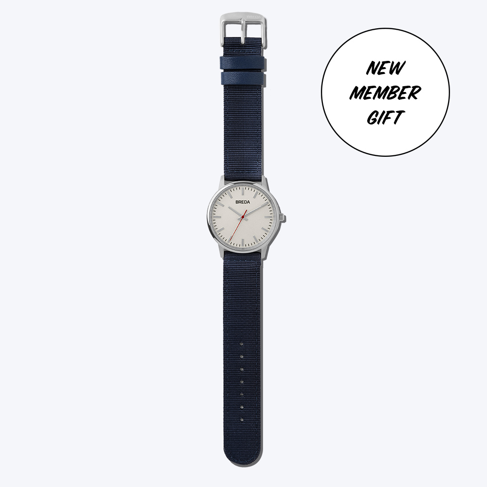 New Member Gift: BREDA Watch*