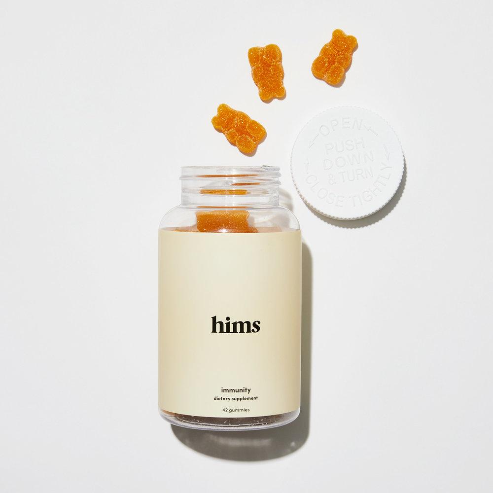 Hims Immunity gummy vitamins