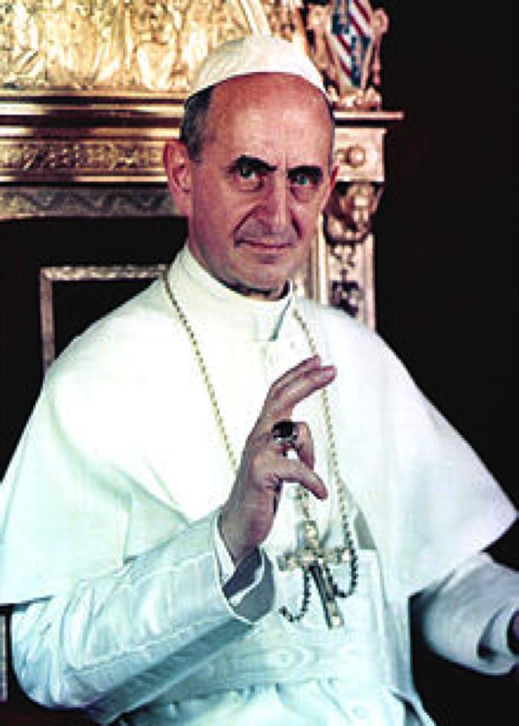 Portrait of Pope Paul VI