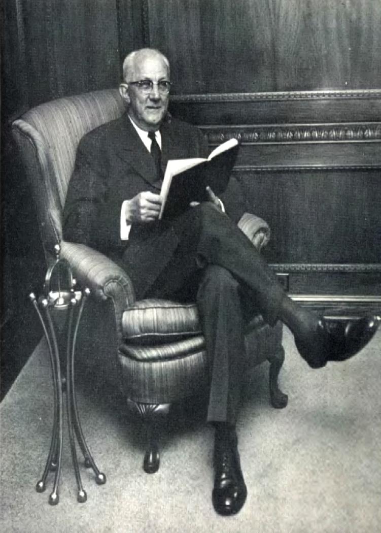 Portrait of George Strake
