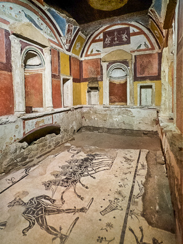Roman Tomb Discovered in the Necropolis Under St. Peter's Basilica