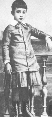 Childhood Portrait of Pope Pius XII