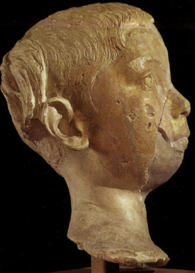 Portrait Head of Gaius Valerius Olympianus from Valerius Tomb