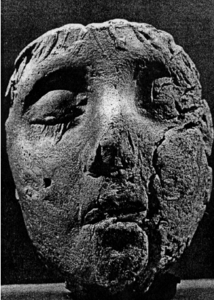 Death Mask of Gaius Valerius Olympianus from Valerius Tomb