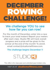 December Rowing Challenge