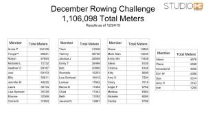 Week 3 Update Rowing Challenge