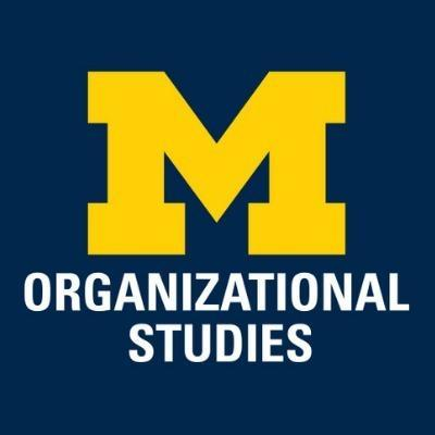 Michigan Organizational Studies Department
