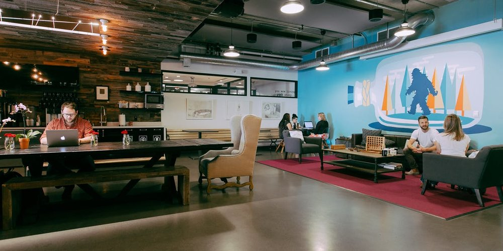 WeWork - South Lake Union   500 Yale Ave N, Seattle, WA 98109  Private Office - Starts from $600 / month Dedicated Desk - Starts from $400 / month Hot Desk - Starts from $300 / month
