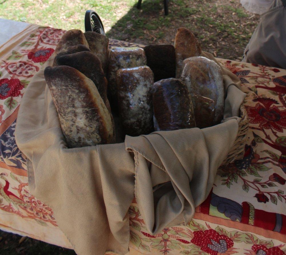 Sourdough bread, $8