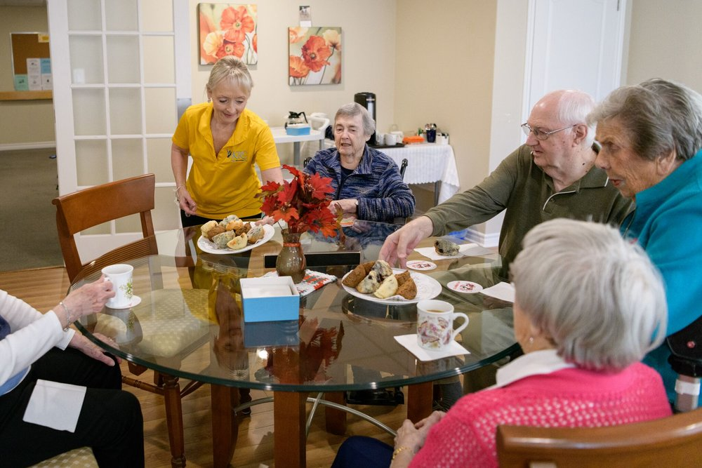 Ask Yourself - If you answer yes to any of the following questions, we think senior living could be right for you or your loved one:- Is maintaining your home, including repairs, snow removal and grounds keeping, an ongoing concern?- Are day to day tasks and errands, like grocery shopping, becoming a nuisance or concerning?- Have you had a health issue that has caused you to wonder if living alone is a risk to your health?- Are you concerned about falling in your home?- Are you having trouble preparing meals and getting proper nutrition?- Are you lonely?