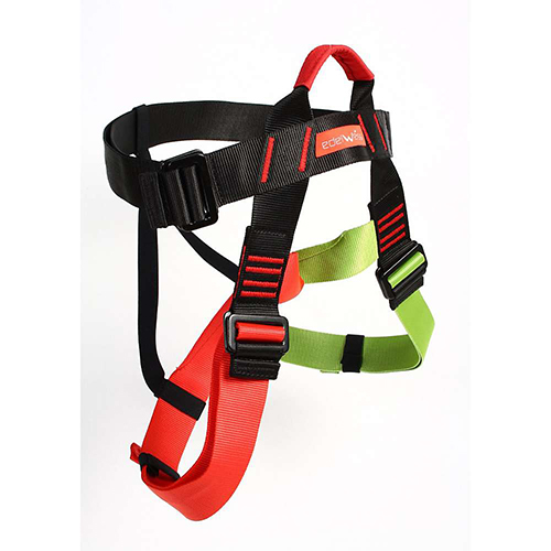EDELWEISS CHALLENGE SIT HARNESS - The Challenge harness is built for group-use activities like ropes courses as well as indoor and outdoor climbing and mountaineering.