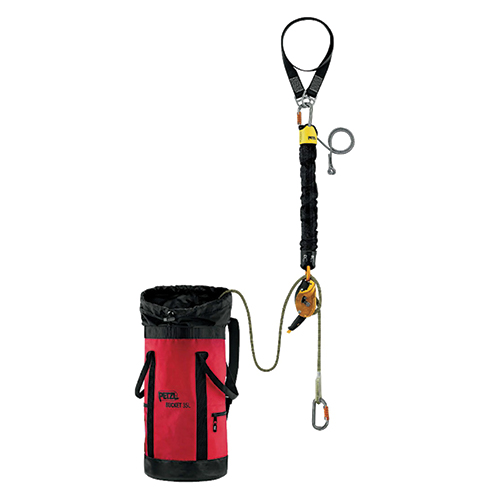 Petzl JAG Rescue Kit - The JAG RESCUE KIT is a ready-to-use reversible rescue kit designed to easily pick off and lower a victim.