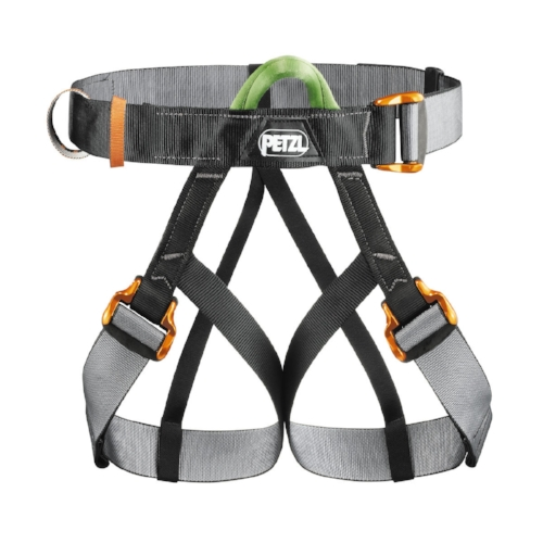 Petzl Panji Seat Harness - The PANJI seat harness is easy for the operator to put on, adjust and verify on a client.