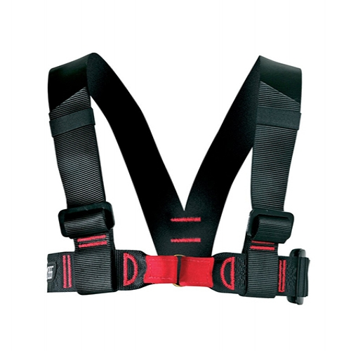 EDELWEISS CHALLENGE CHEST HARNESS - The Challenge Chest Harness was built to work with the Challenge sit harness, but can work together with any sit harness.