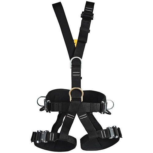 Singing Rock Technic Full Body Harness - A fully adjustable, full body harness for work positioning and fall-arrest. Padded hip belt and leg loops for comfort.