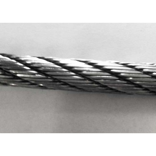 6×26 Super Swaged Aircraft Cable- 1/2″g - This premium swaged line has a published Breaking Strength of 34,800 lbs, and the factory test certificates show an actual break of 35,800 lbs!