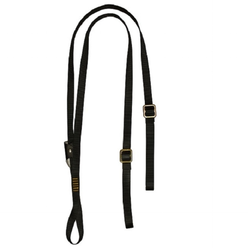 Fusion Y Legged Lanyard w/ ISC Captive Eye Carabiner - Fully adjustable FUSION Y-Legged Lanyard, adjusts up to 6 feet in length and has a hitched loop.