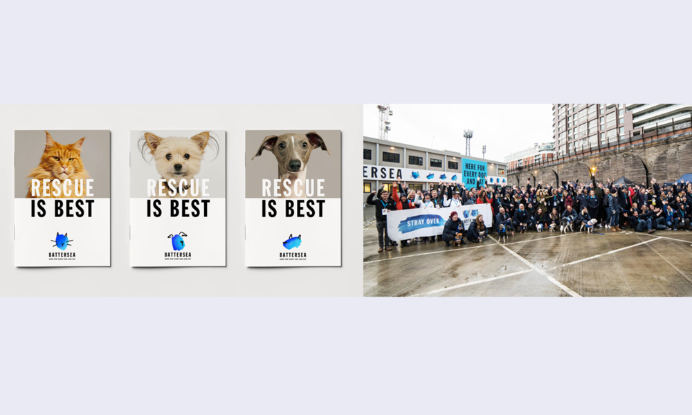 Images: twitter –  @battersea_ ,  Pentagram