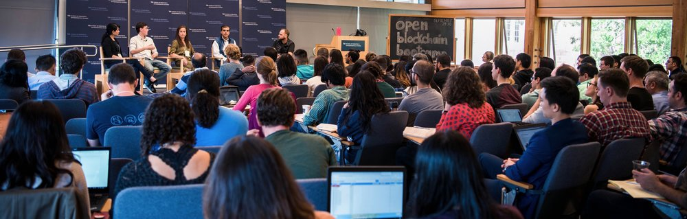 Panelists discussed applications for blockchain at the Open Blockchain Bootcamp.