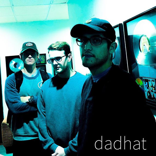 We've been hard at work. Single coming very soon. #dadhatmusic