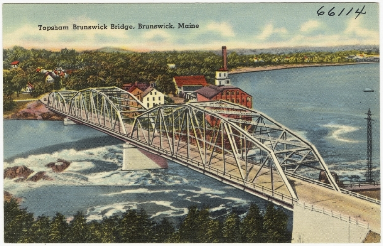 Brunswick, Maine–Topsham Brunswick Bridge