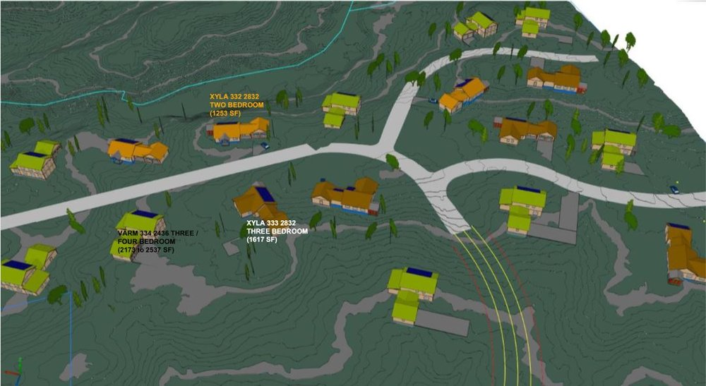 Virtual renderings of Douglas Ridge Community