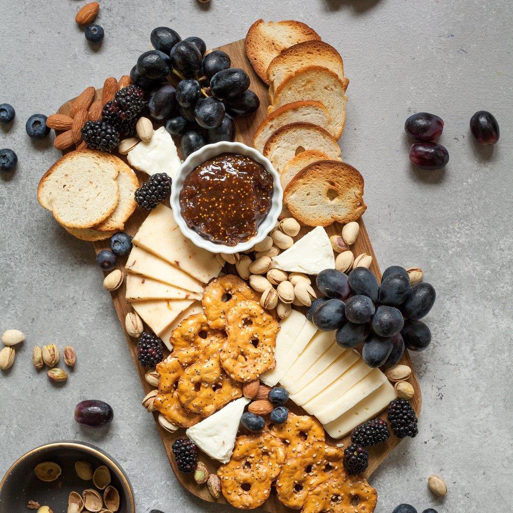 Cheese Platter - 20$, Insert Partnership Names Here