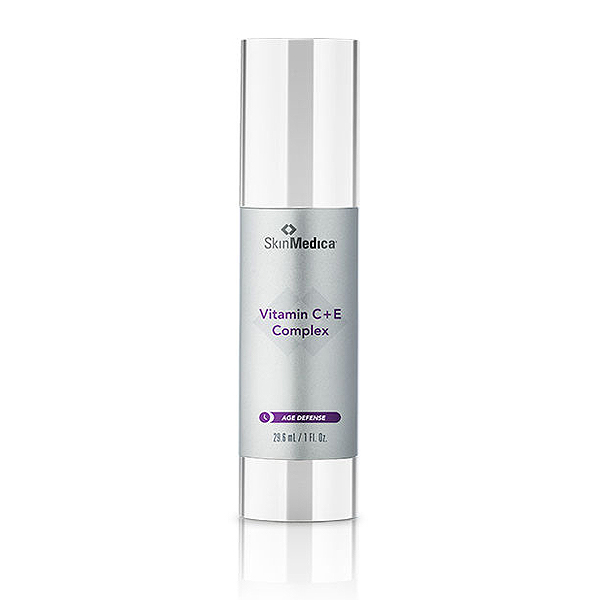 Vitamin C+E Complex  Improves the appearance of skin tone and texture with vitamins C & E.  Appropriate for all skin types.