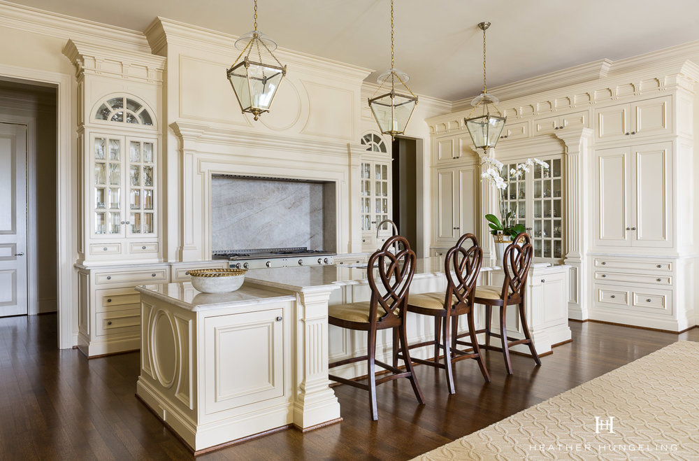 Clive Christian Architectural Kitchen In Classic Cream, Dallas T