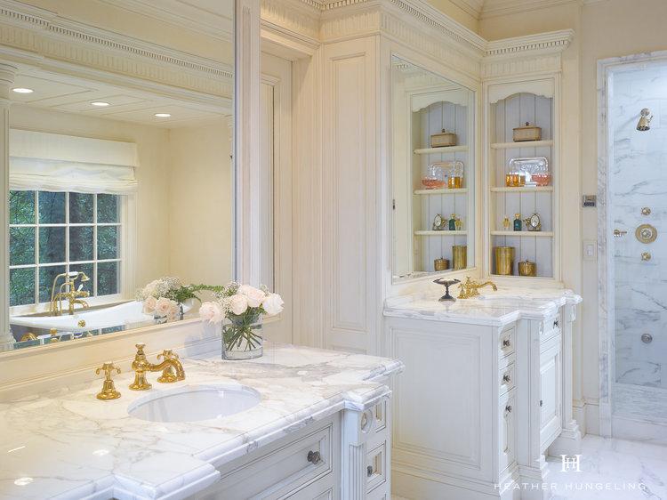 A Romantic Luxury Bathroom For Two In Atlanta Heather Hungeling - Bathroom design atlanta